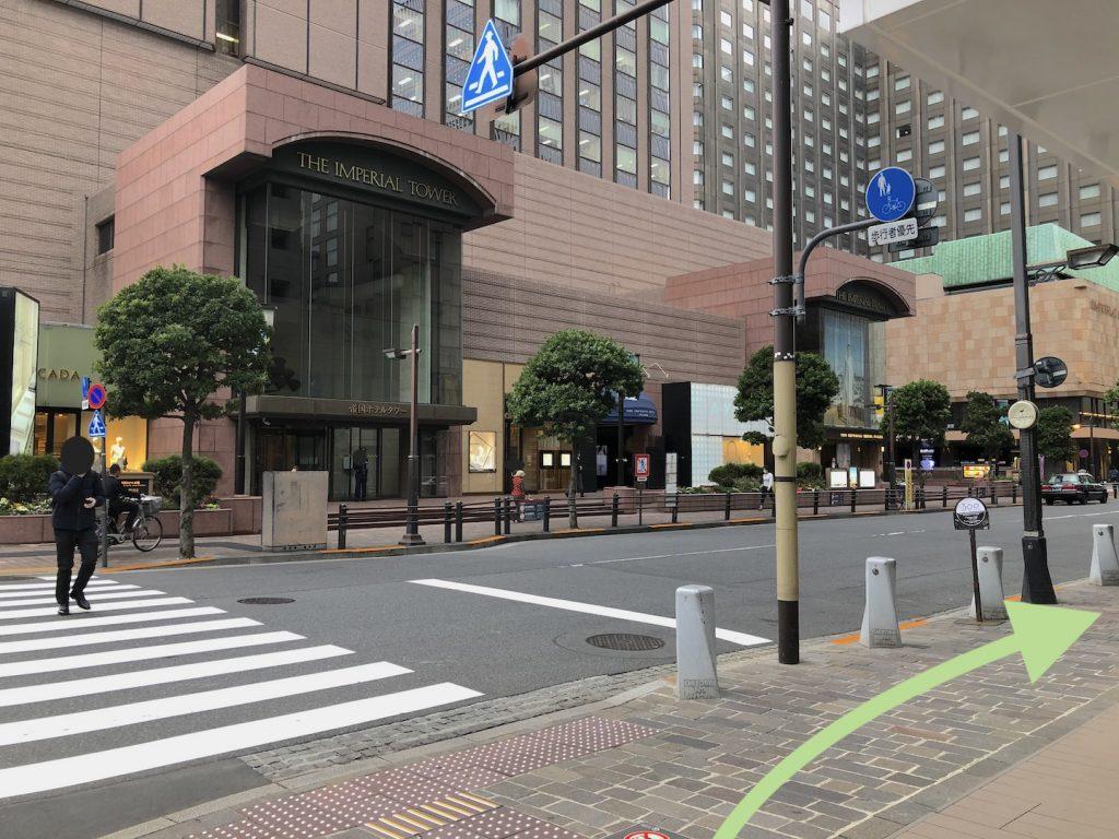 日生劇場へのアクセス画像5