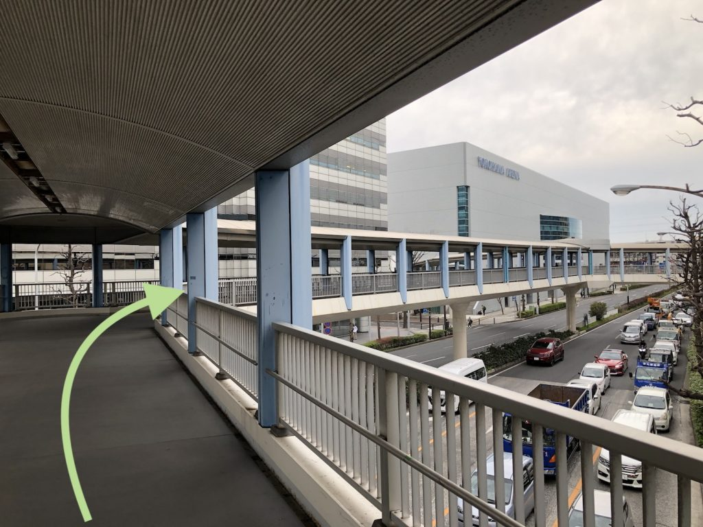 横浜アリーナへのアクセス画像7