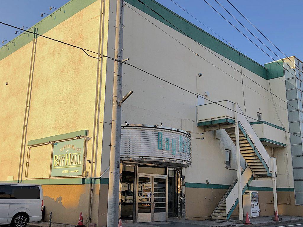 横浜ベイホールのアクセス画像1