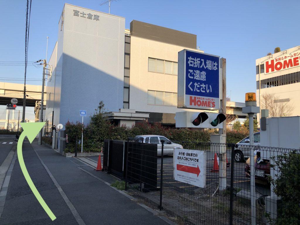横浜ベイホールのアクセス画像7
