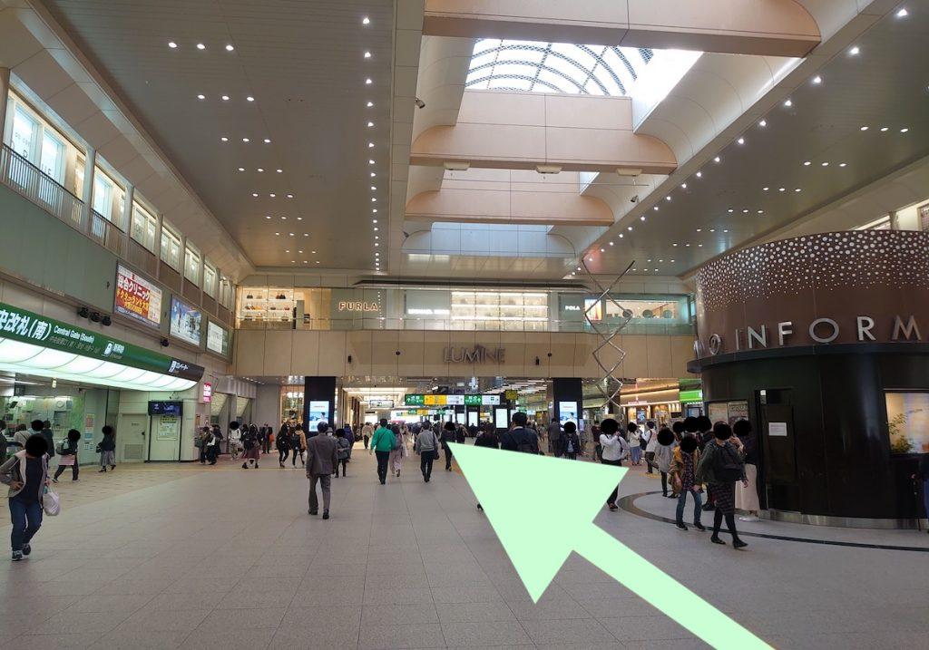 大宮ソニックシティのアクセス画像17
