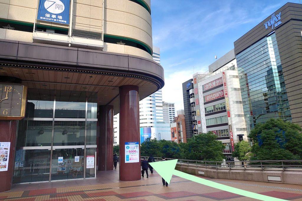 大宮ソニックシティのアクセス画像4