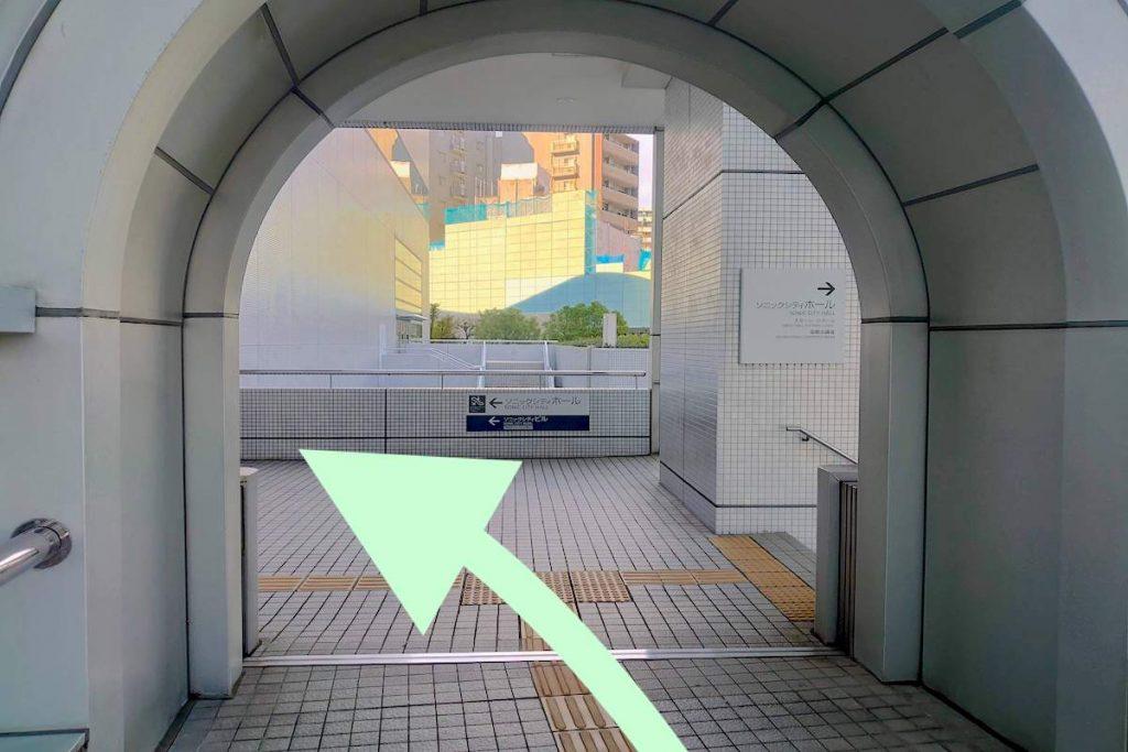 大宮ソニックシティのアクセス画像8