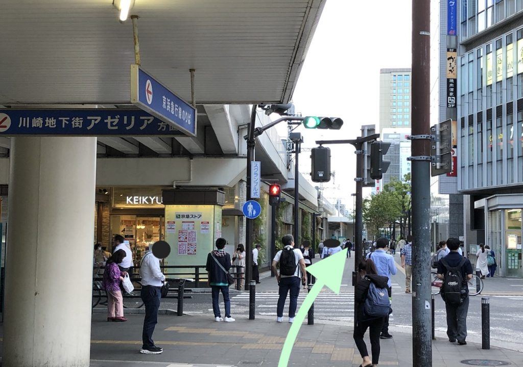 ミューザ川崎のアクセス画像6