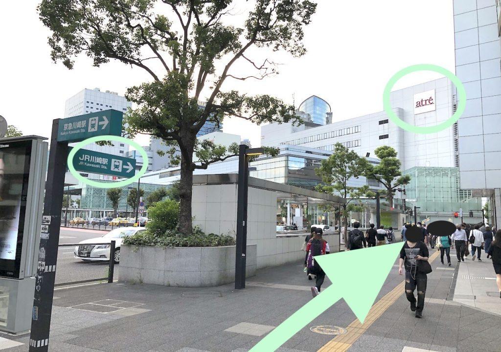 ミューザ川崎のアクセス画像7