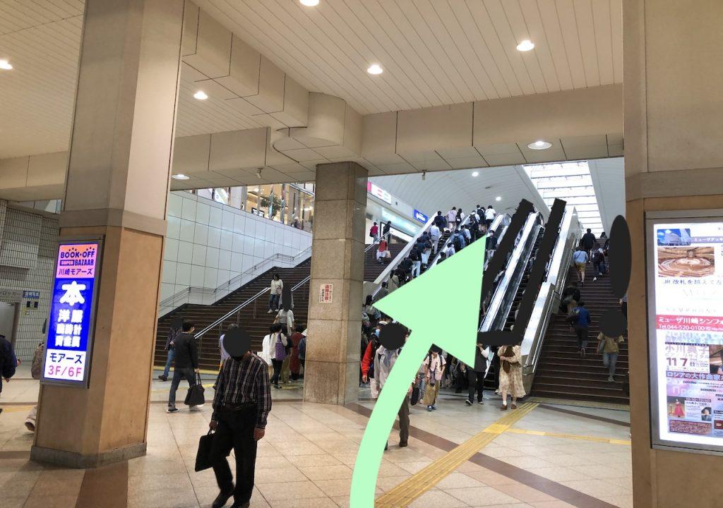 ミューザ川崎のアクセス画像9