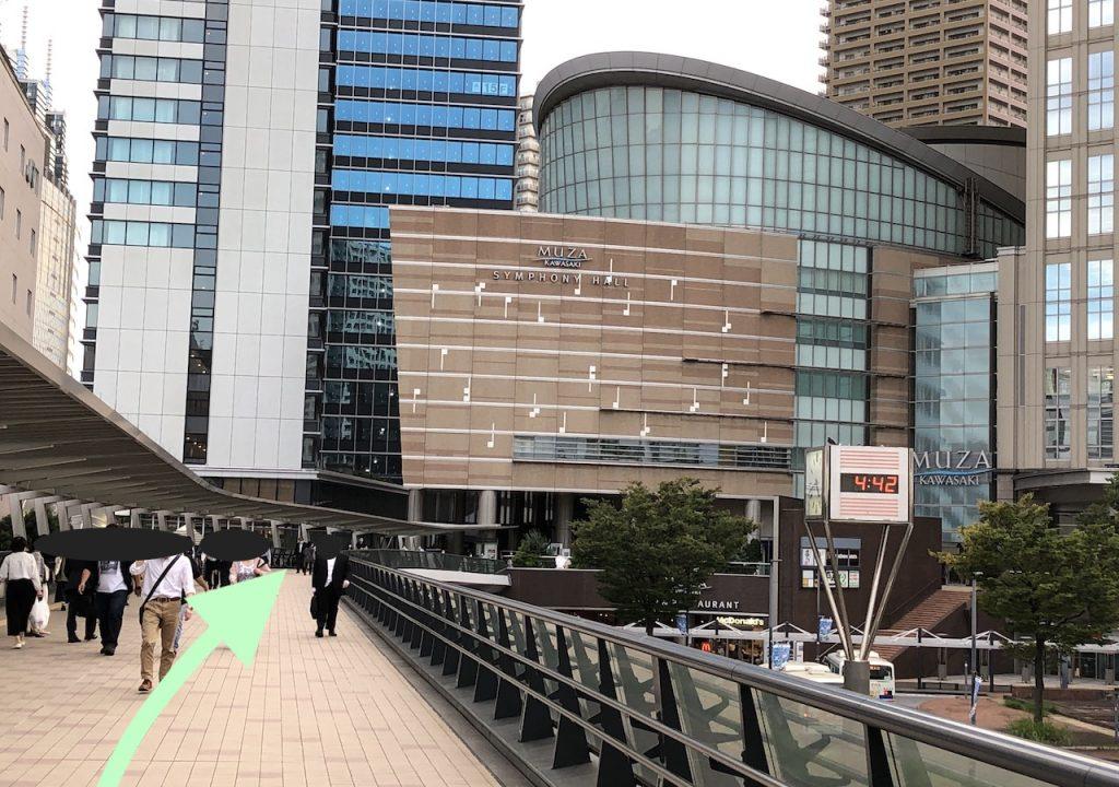 ミューザ川崎のアクセス画像4