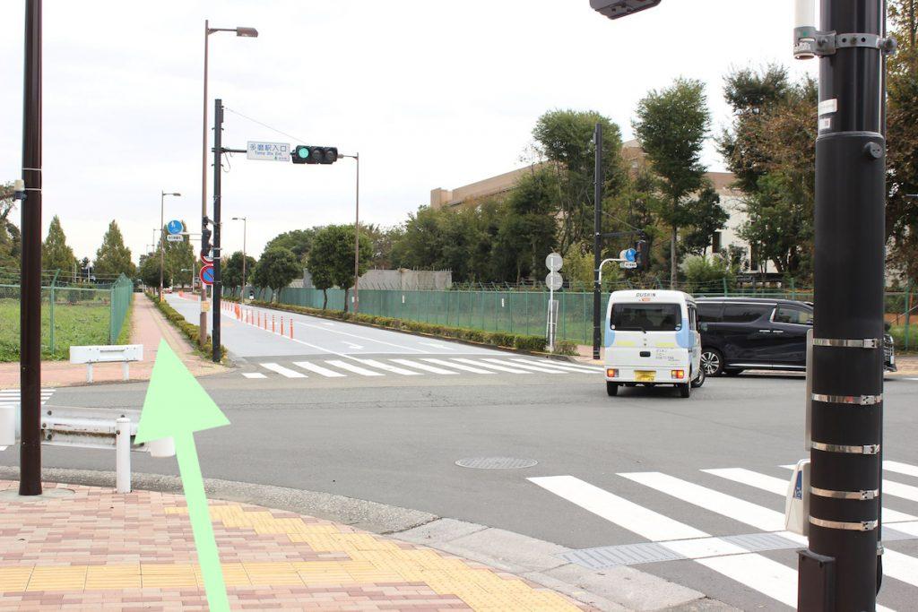 東京スタジアム(味の素スタジアム)のアクセス画像22