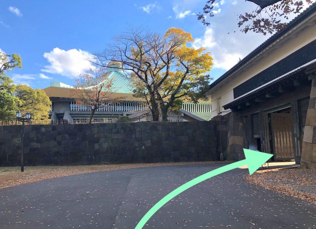日本武道館のアクセス画像11