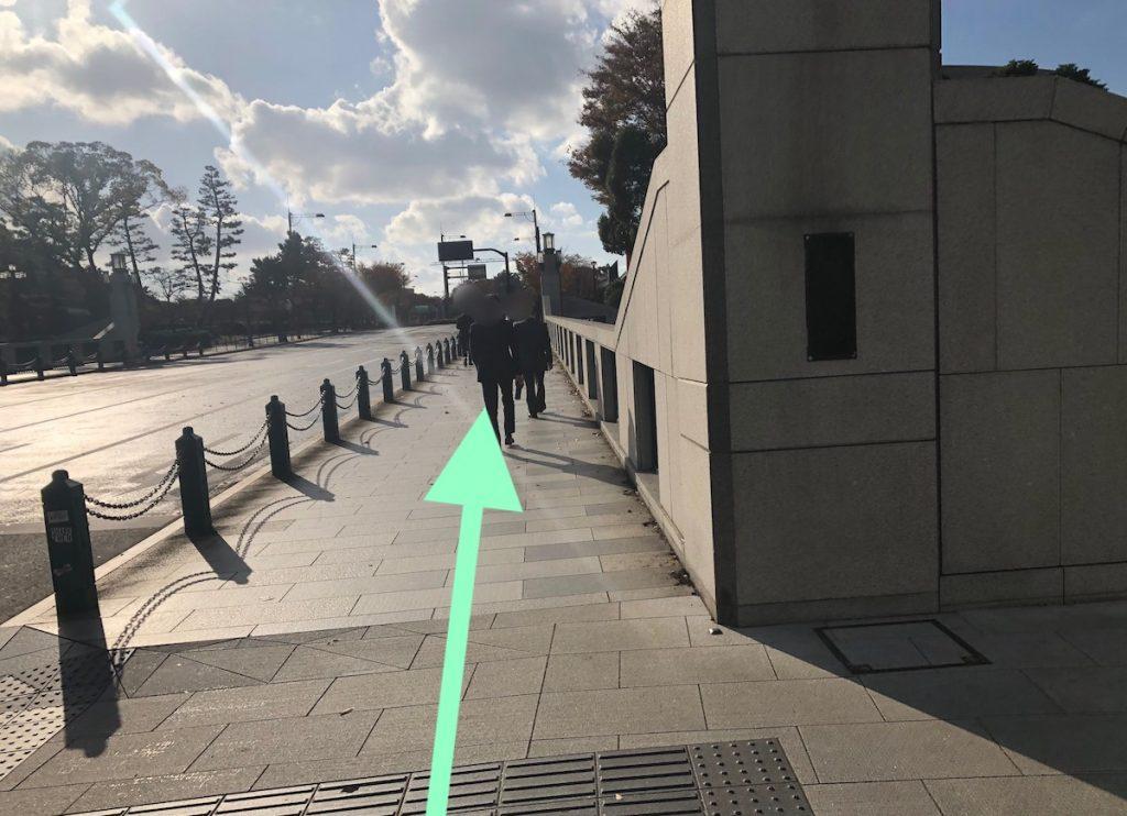 日本武道館のアクセス画像18