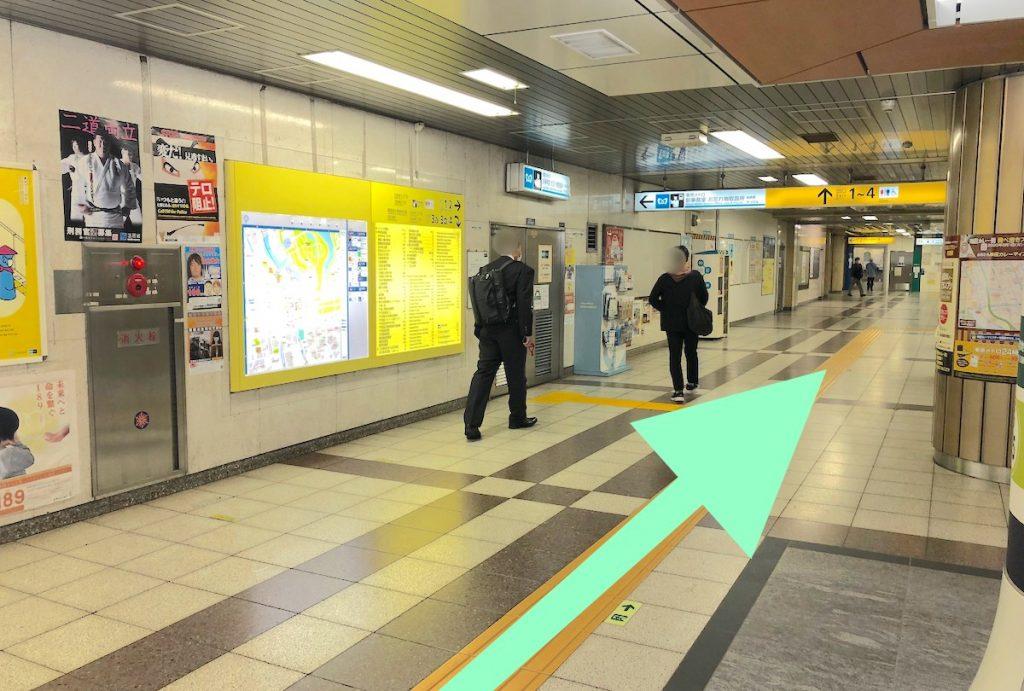 日本武道館のアクセス画像3