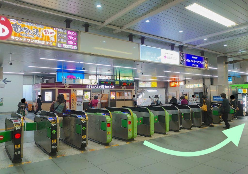 川口総合文化センター・リリアのアクセス画像2