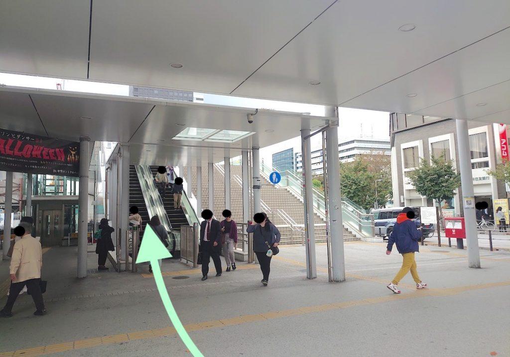 中野サンプラザのアクセス画像3