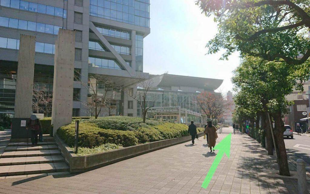 大田区民ホール・アプリコのアクセス画像20