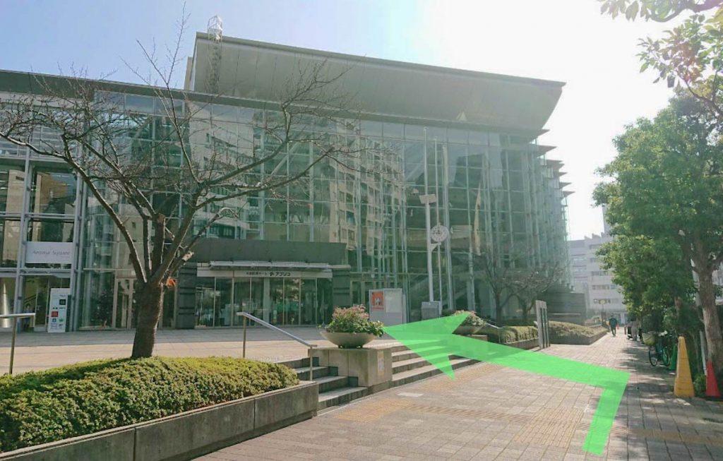 大田区民ホール・アプリコのアクセス画像8