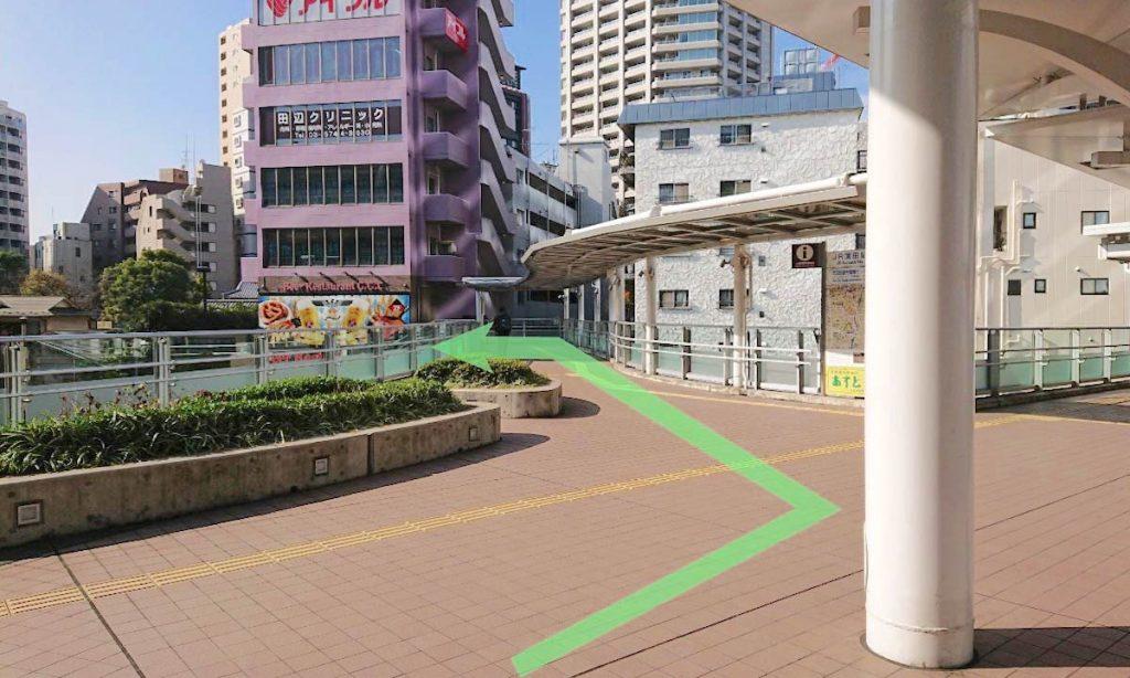 大田区民ホール・アプリコのアクセス画像12