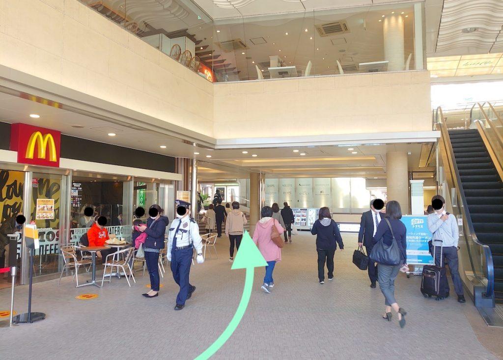 品川プリンスホテル・ステラボールのアクセス画像5