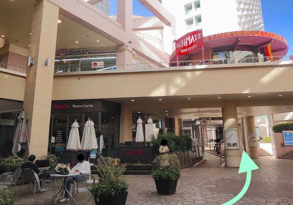 品川プリンスホテル・ステラボールのアクセス画像6