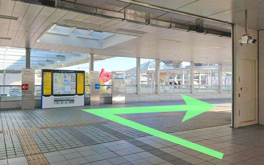 東京ビッグサイト(東京国際展示場)のアクセス画像3