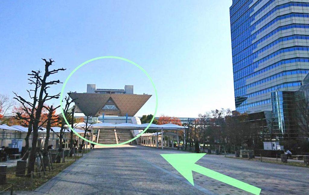 東京ビッグサイト(東京国際展示場)のアクセス画像10