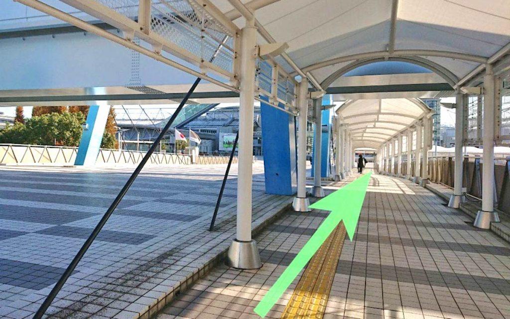 東京ビッグサイト(東京国際展示場)のアクセス画像12