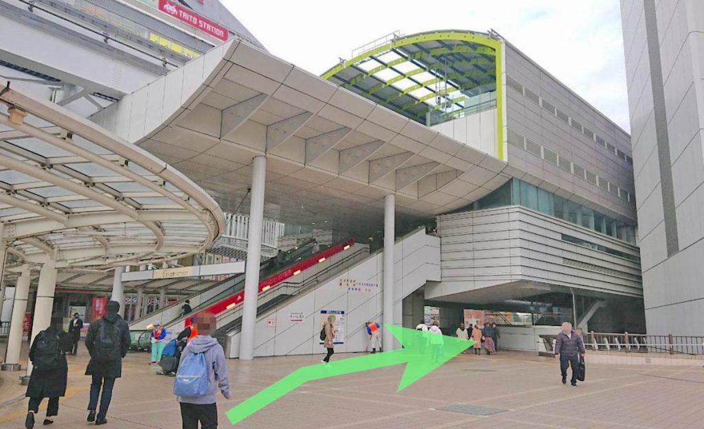 立川ステージガーデンのアクセス画像6