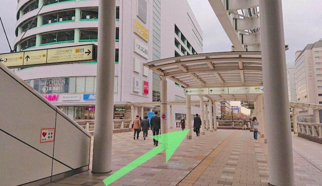 立川ステージガーデンのアクセス画像8