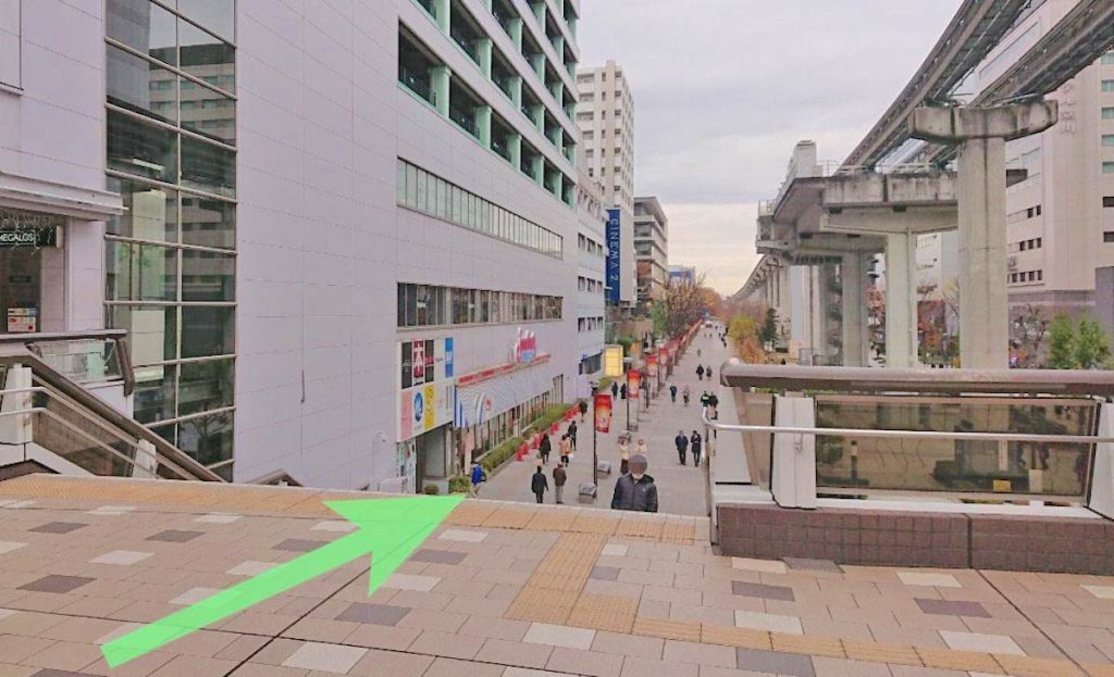 立川ステージガーデンのアクセス画像9