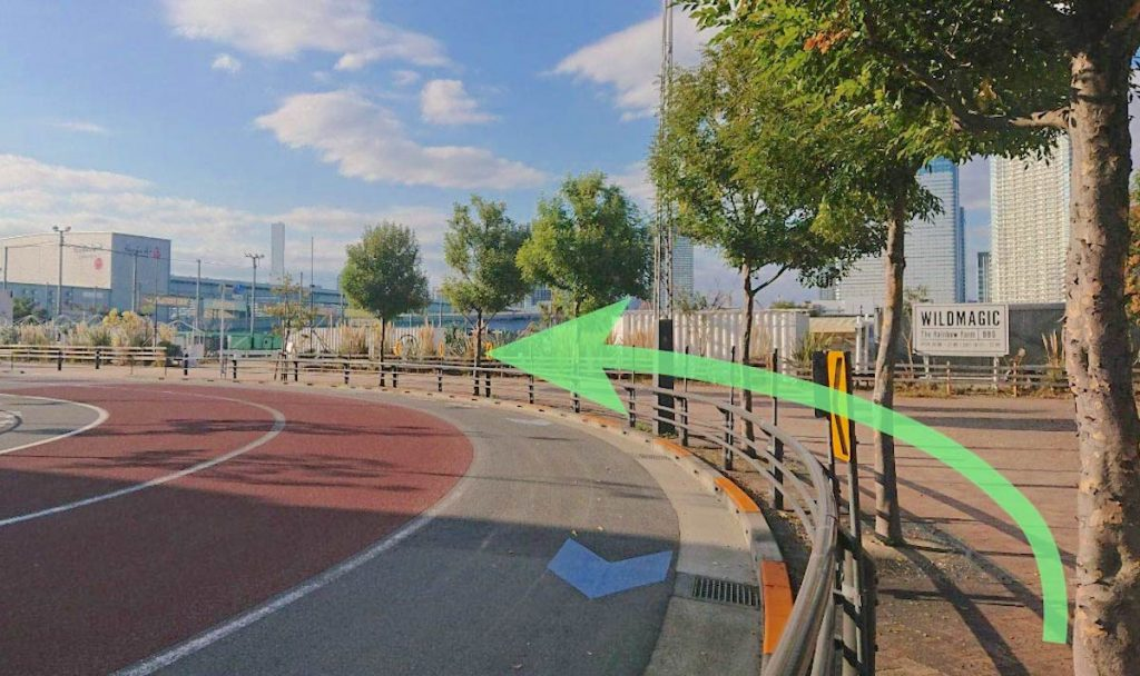 豊洲PITのアクセス画像7