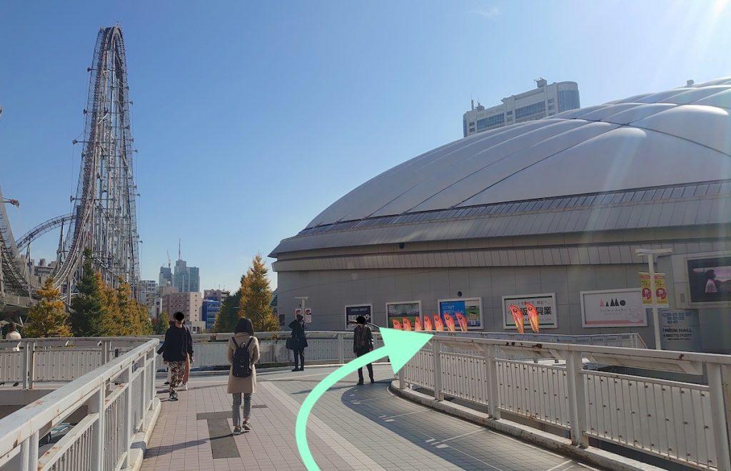 東京ドームシティホールのアクセス画像12