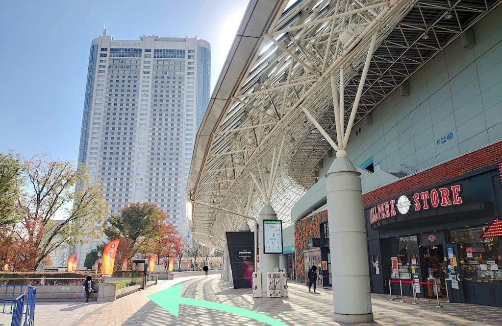東京ドームシティホールのアクセス画像14