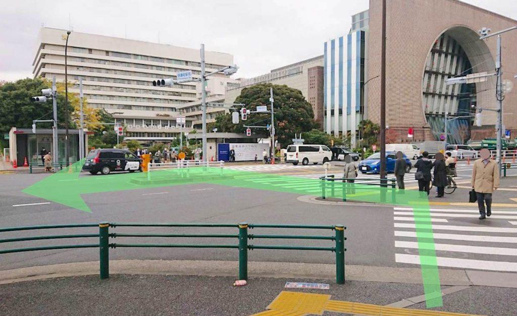 日本青年館ホールのアクセス画像3