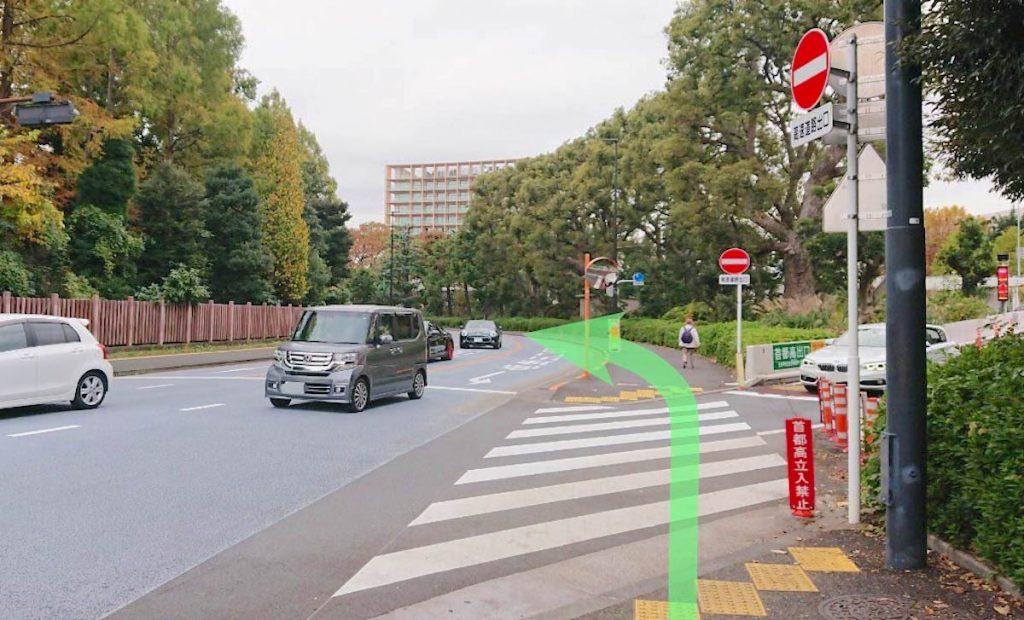 日本青年館ホールのアクセス画像6