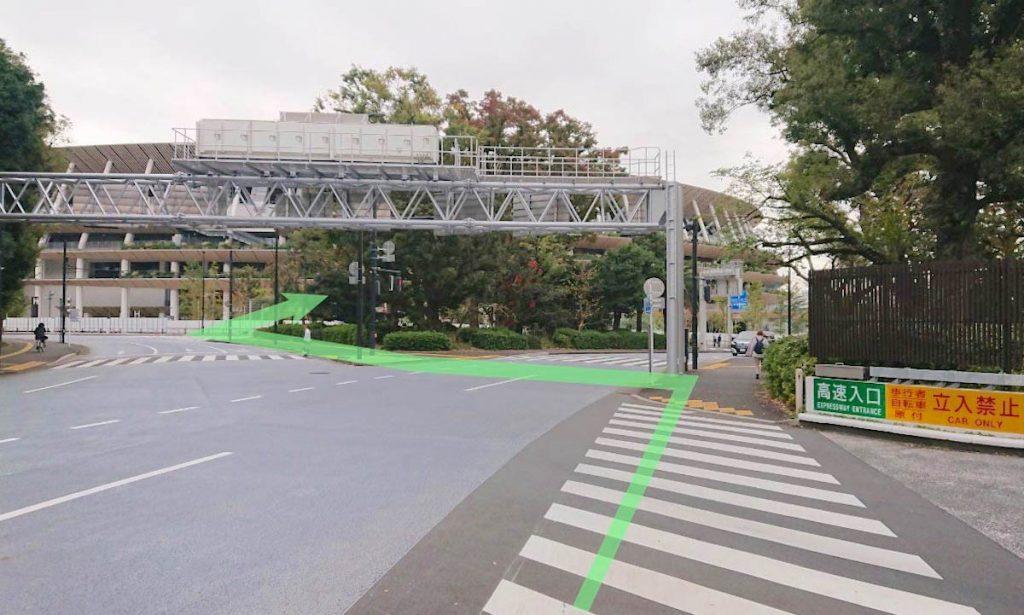 日本青年館ホールのアクセス画像7