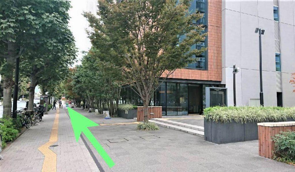 日本青年館ホールのアクセス画像12