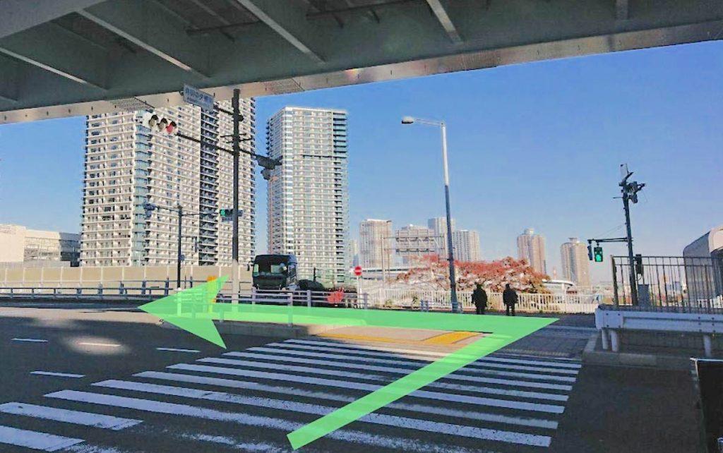 東京ガーデンシアターのアクセス画像8