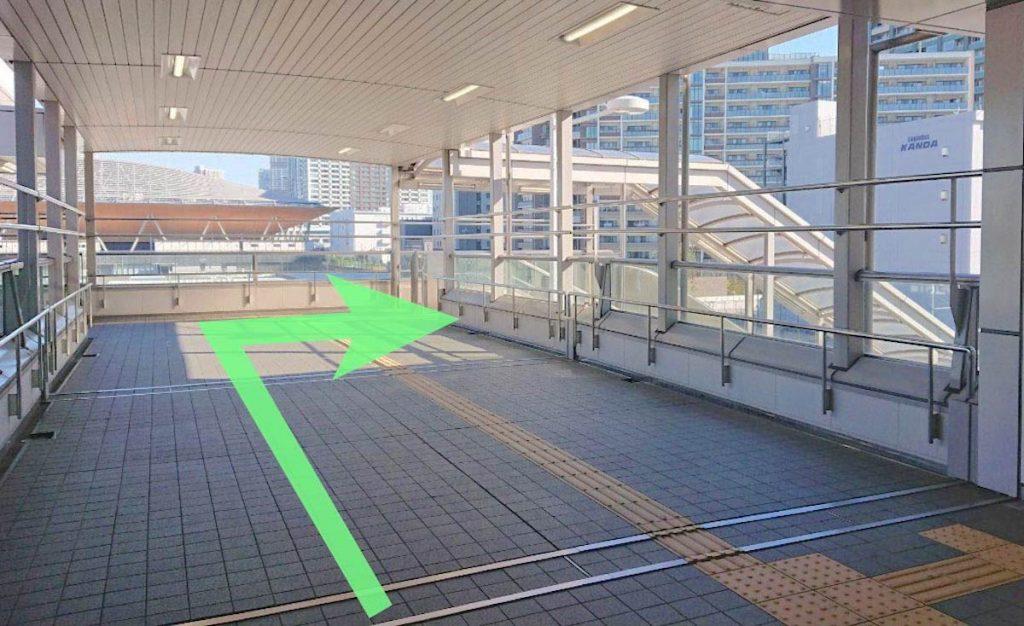 東京ガーデンシアターのアクセス画像23