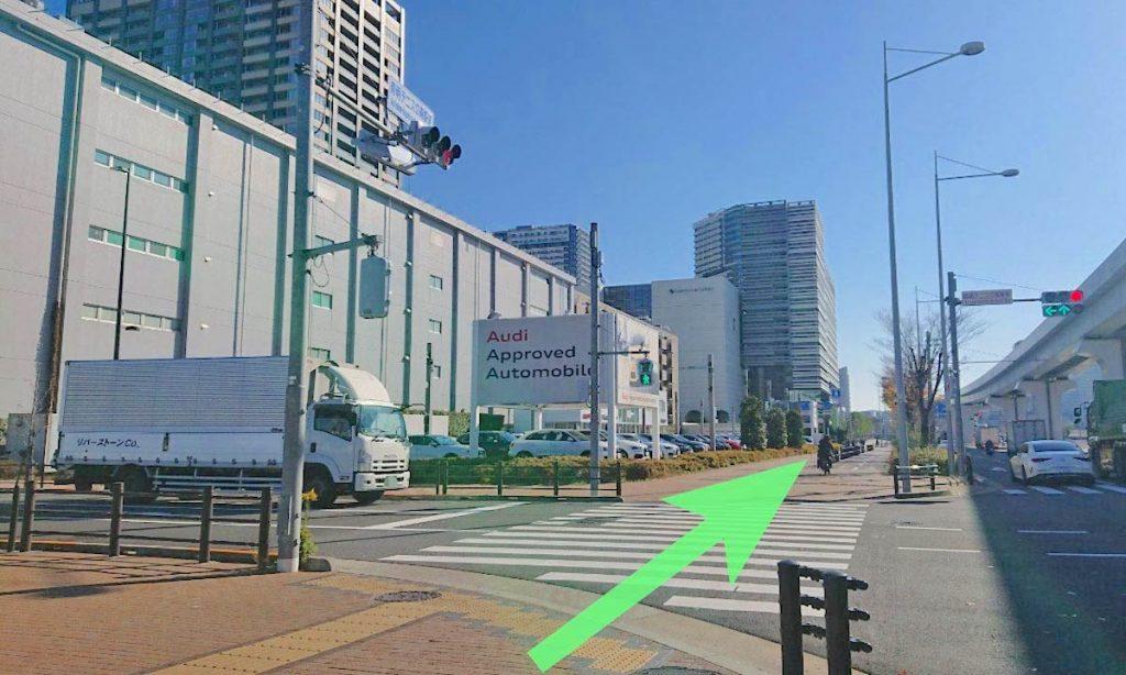 東京ガーデンシアターのアクセス画像24