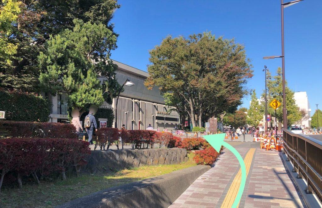 東京文化会館のアクセス画像16