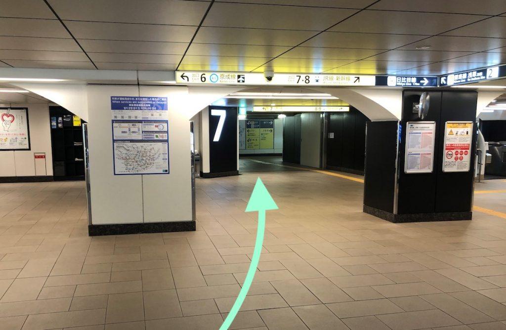 東京文化会館のアクセス画像19