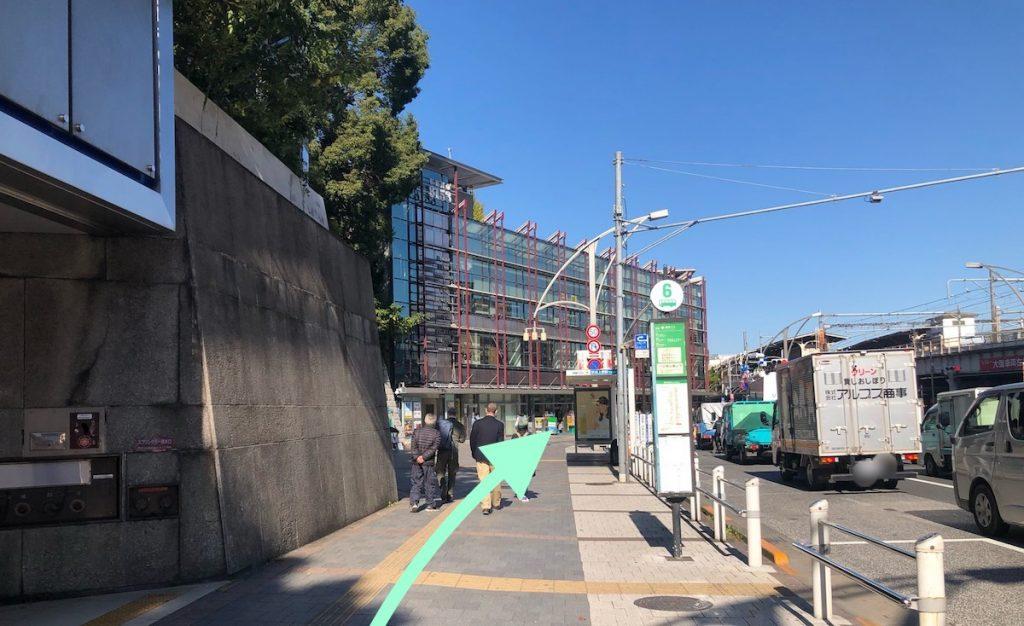 東京文化会館のアクセス画像8