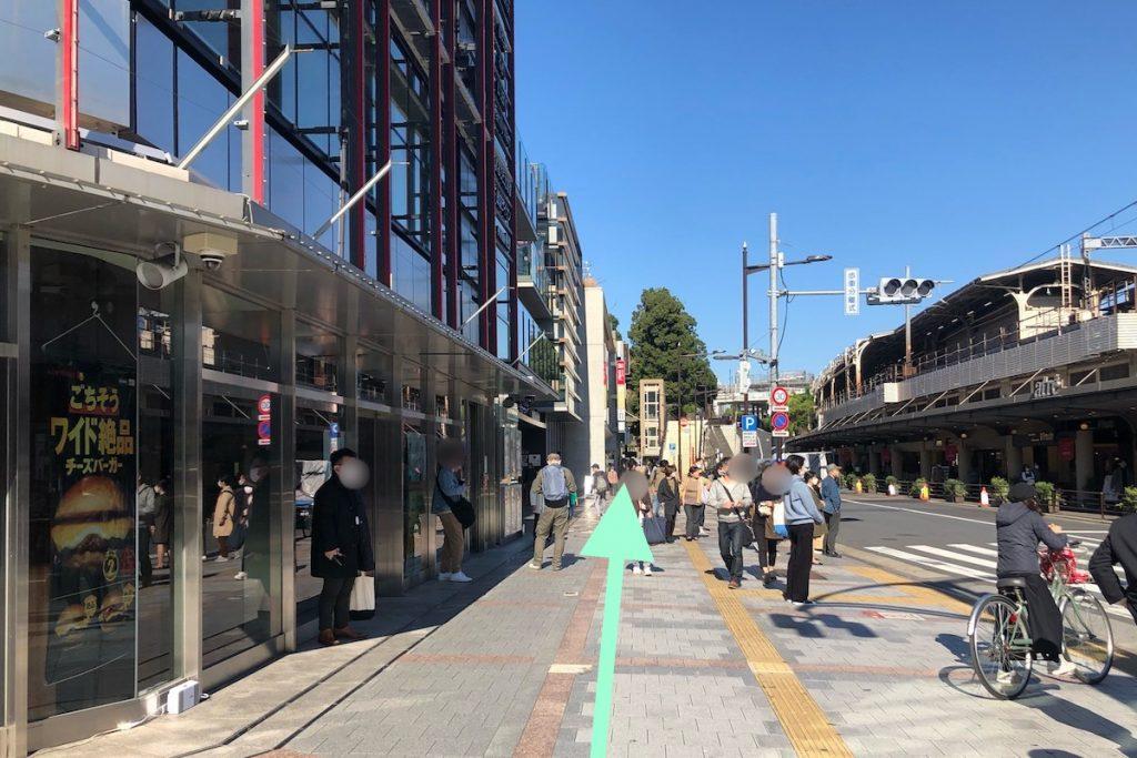 東京文化会館のアクセス画像10