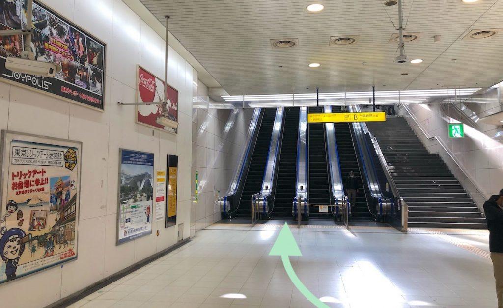 ZEPP DiverCity TOKYO(ダイバーシティ東京)のアクセス画像13