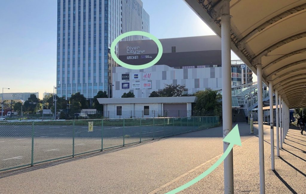 ZEPP DiverCity TOKYO(ダイバーシティ東京)のアクセス画像15
