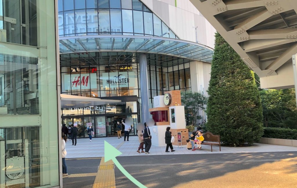 ZEPP DiverCity TOKYO(ダイバーシティ東京)のアクセス画像17