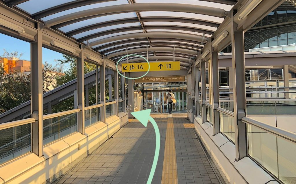 ZEPP DiverCity TOKYO(ダイバーシティ東京)のアクセス画像3