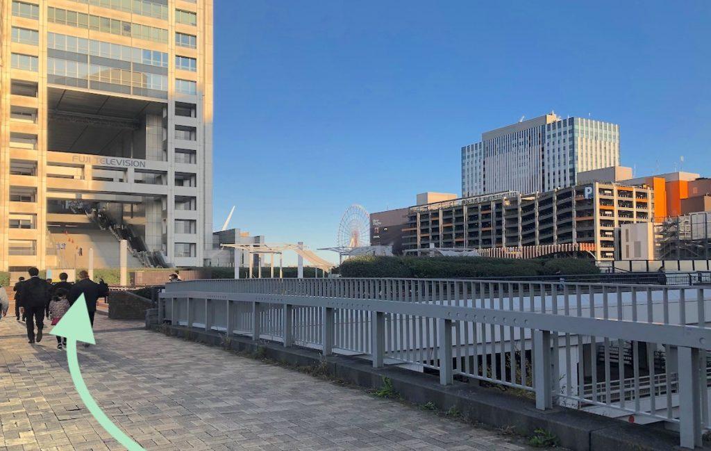 ZEPP DiverCity TOKYO(ダイバーシティ東京)のアクセス画像6