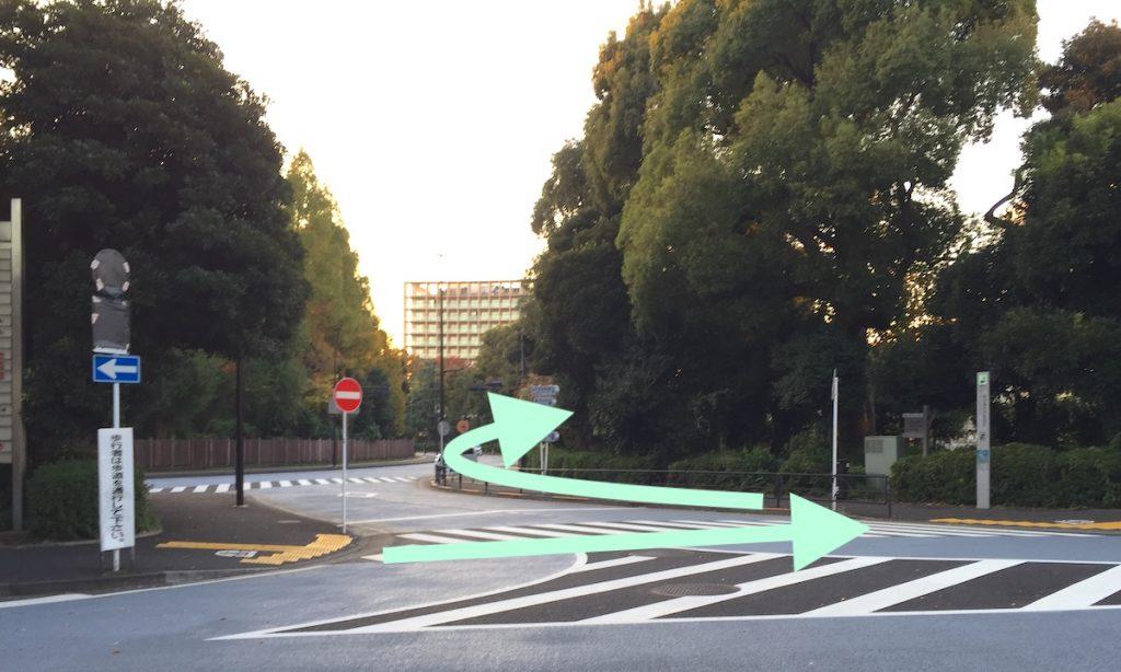東京体育館のアクセス画像7