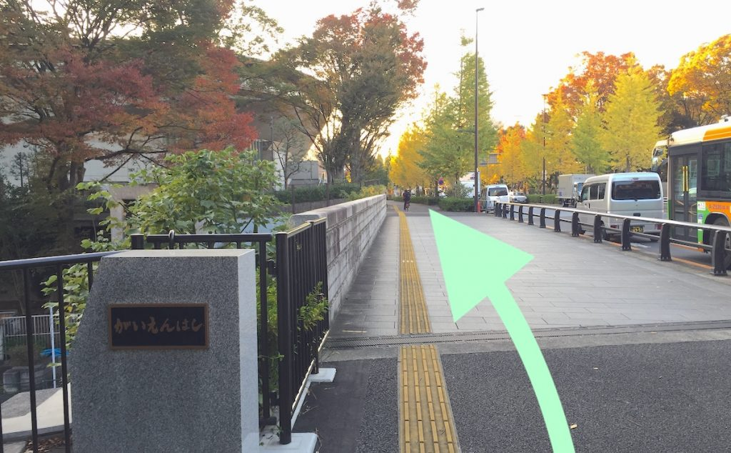 東京体育館のアクセス画像11