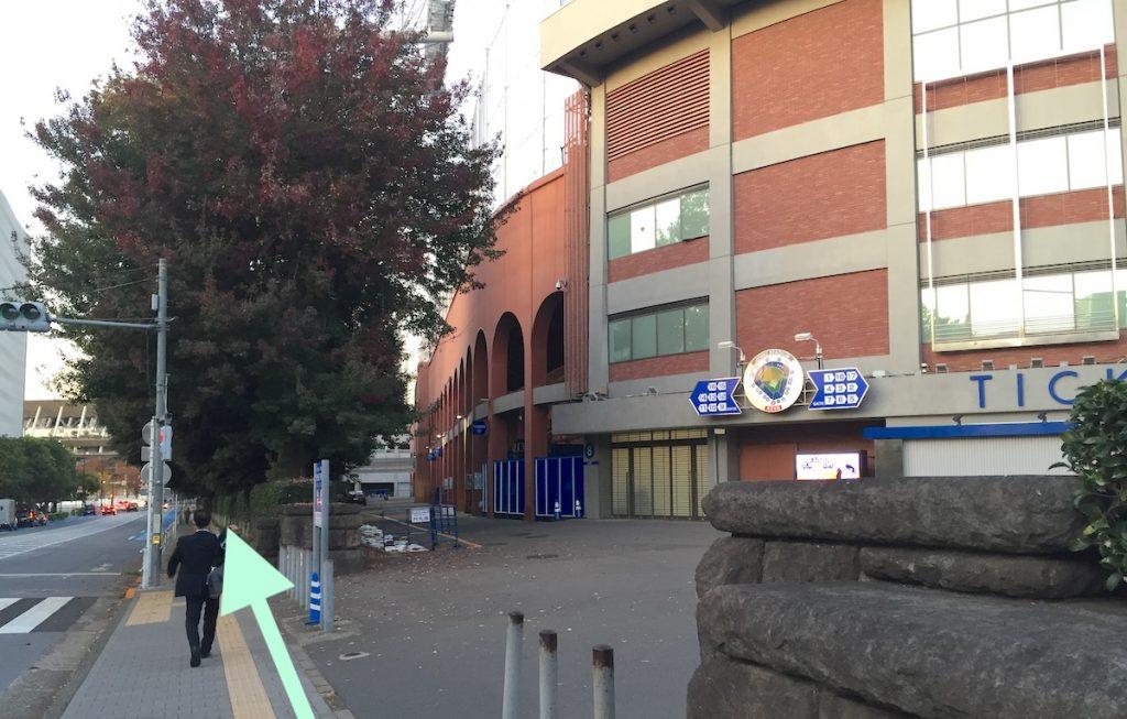 東京体育館のアクセス画像20